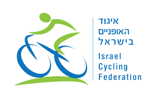 איגוד האופניים בישראל, לוגו, כחול ירוק, איש רוכב על אופניים