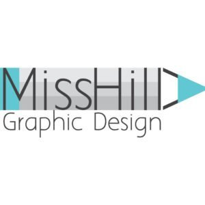 miss hilla graphic design logo מיס הילה עיצתוב גרפי לוגו