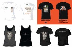 חולצות ממותגות מעוצבות לעסקים עבור הפוסטר גרגא פיטיק ומסיבת יגרמייסטר