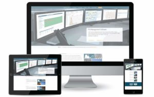 הדמיה של עיצוב אתר רספונסיבי שמתאים למסכים שונים