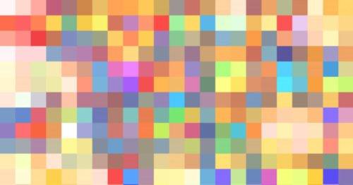 פלטת צבעים שטוחים לעיצוב גרפי