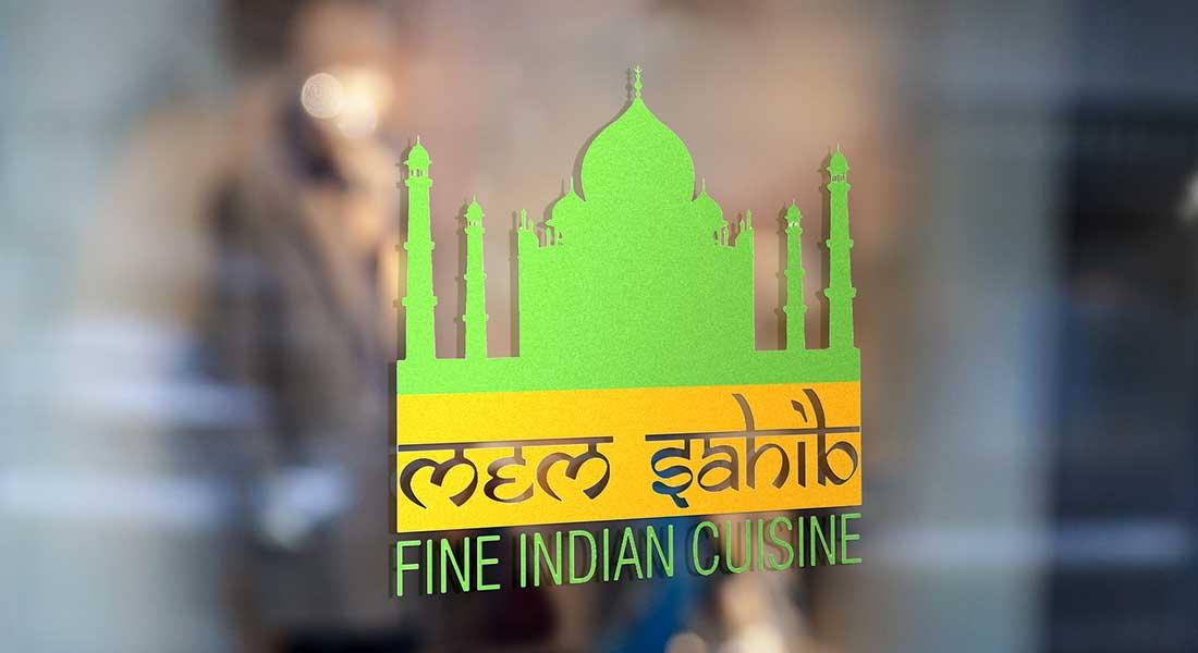 לוגו מסעדה הודית